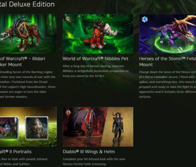 Legion digital deluxe items