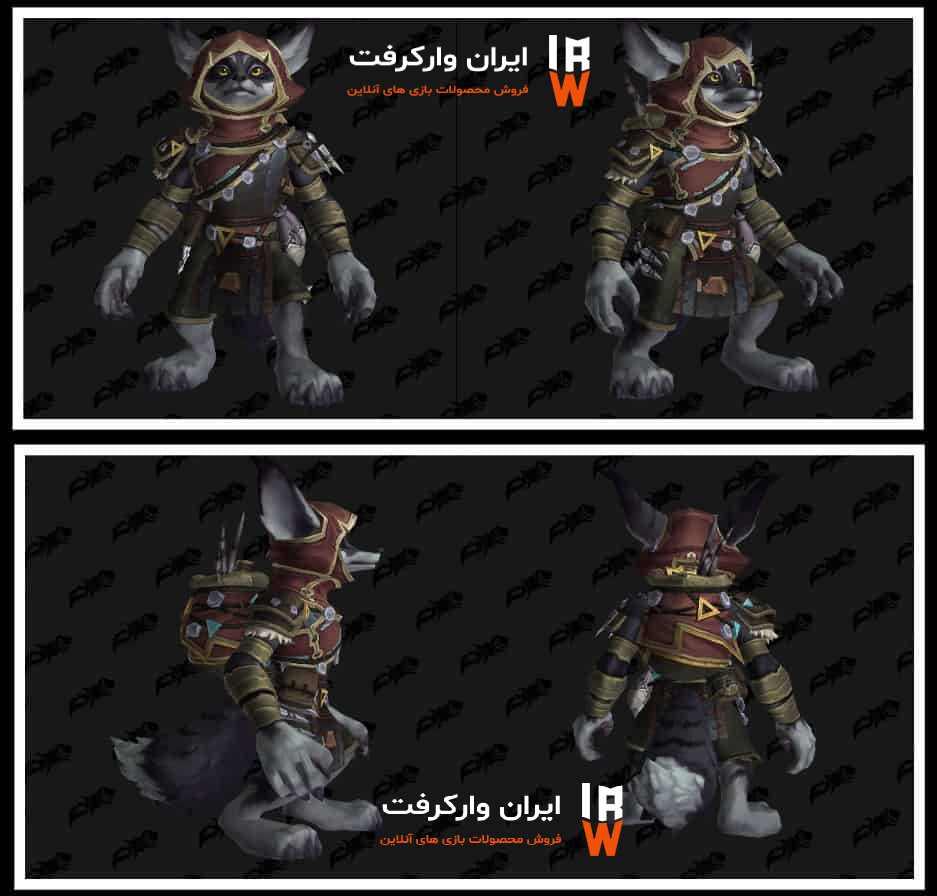 Heritage Armor در نژاد Vulpera در بازی WOW