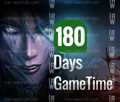 گیم کارت wow 400x340 - خرید گیم تایم 180 روزه